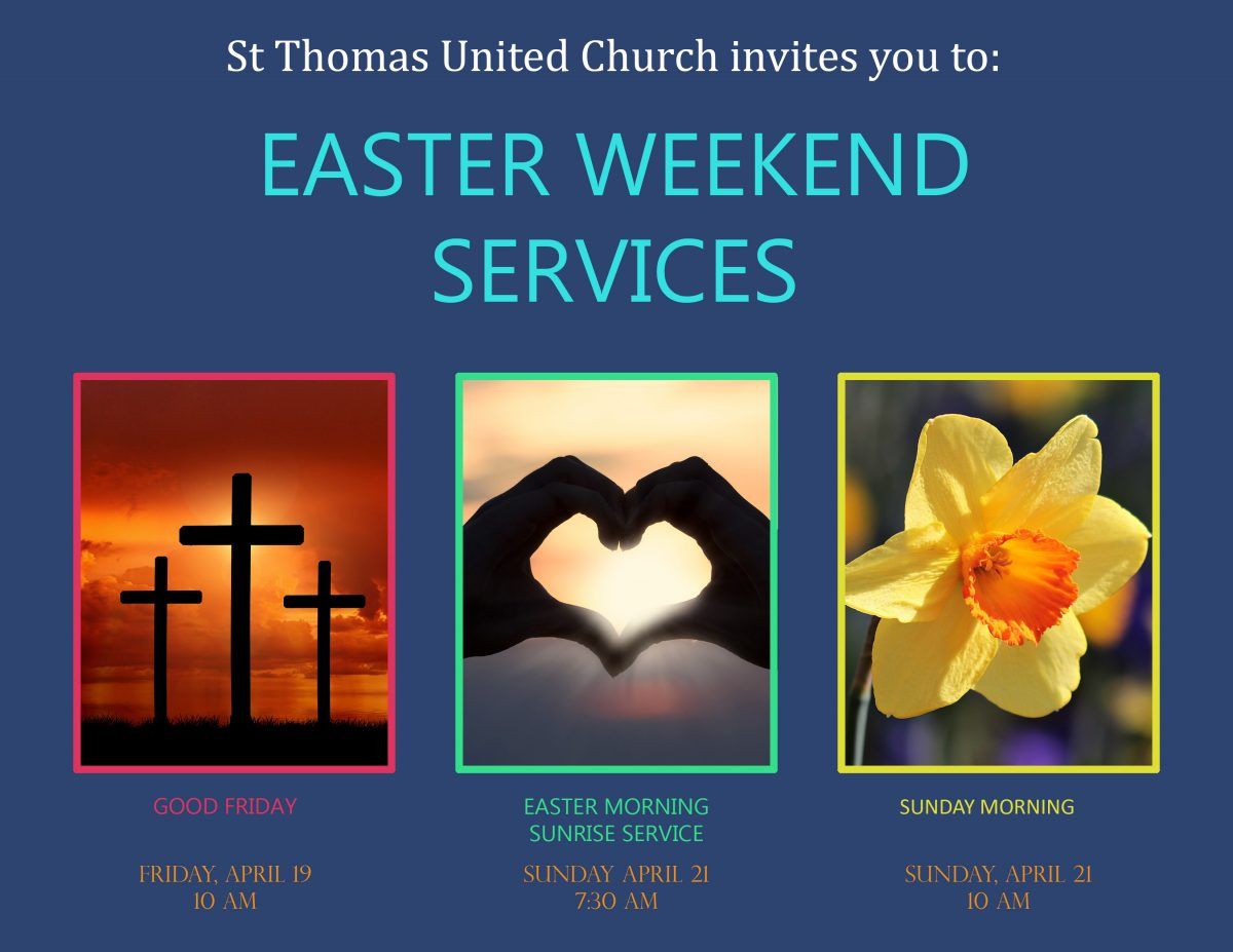 Good Friday and Easter services in NW Calgary
